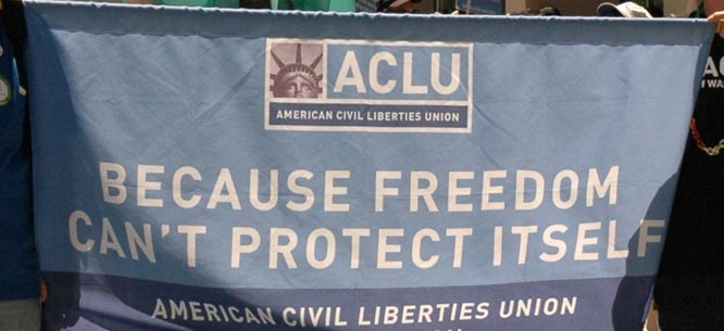 ACLU banner