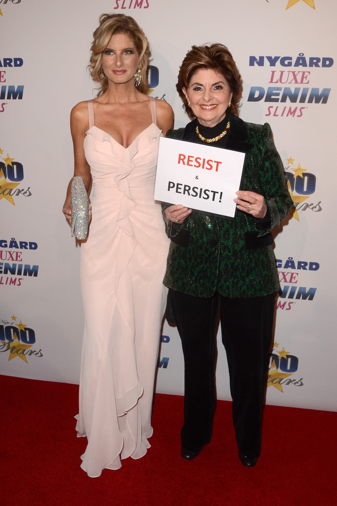 Summer Zervos and Gloria Allred