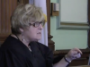 Superior Court Judge Netti C. Vogel (screenshot from Providence Journal video 2012)