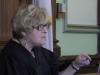 Superior Court Judge Netti C. Vogel (screenshot from Providence Journal video 2012)