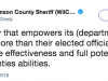 County Judge Charged With Misdemeanor For Threatening Sheriff Over Critical Tweet