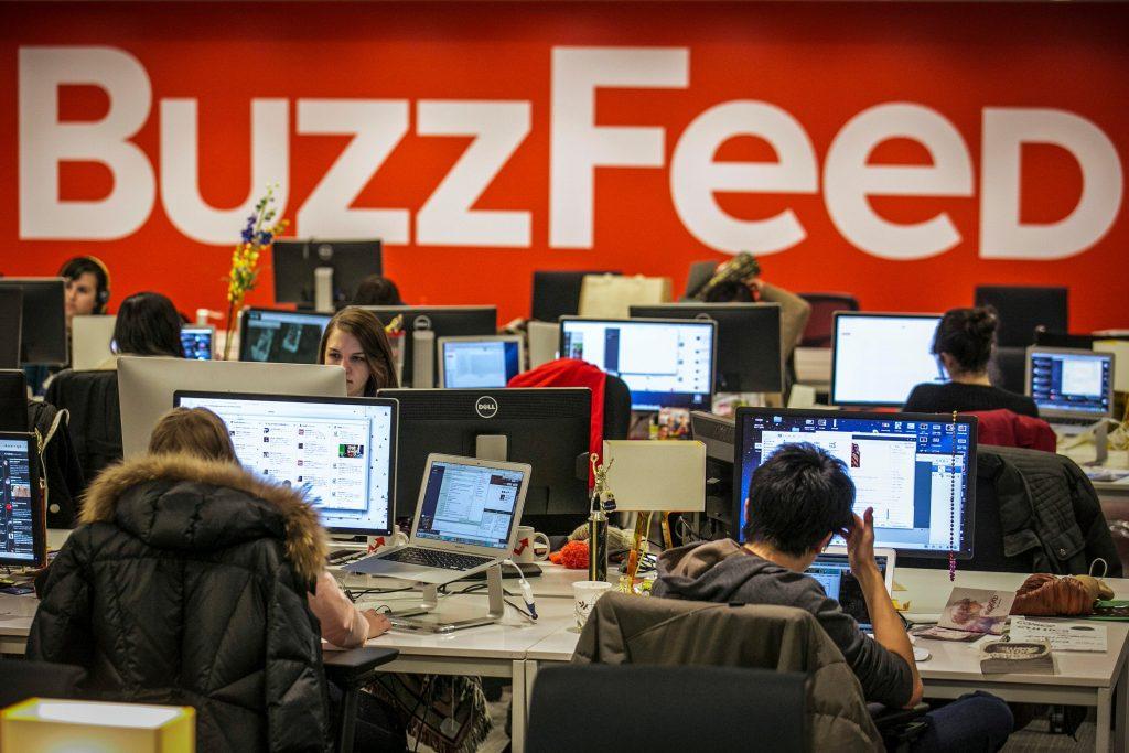 Buzzfeed newsroom