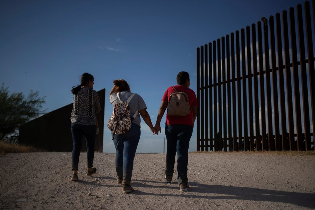 Migrant children at Mexican border