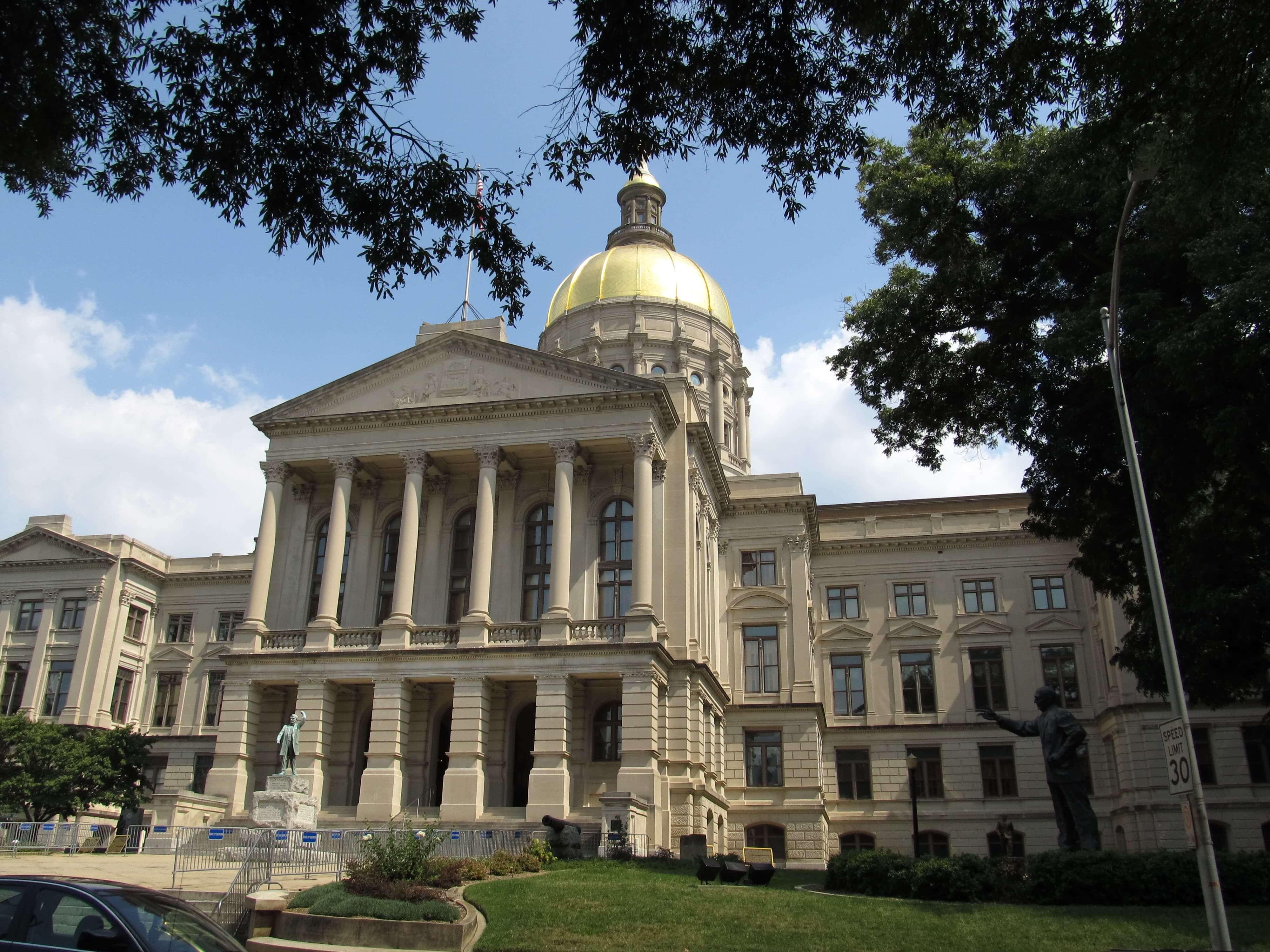 Georgia State Capitol in Atlanta, Georgia