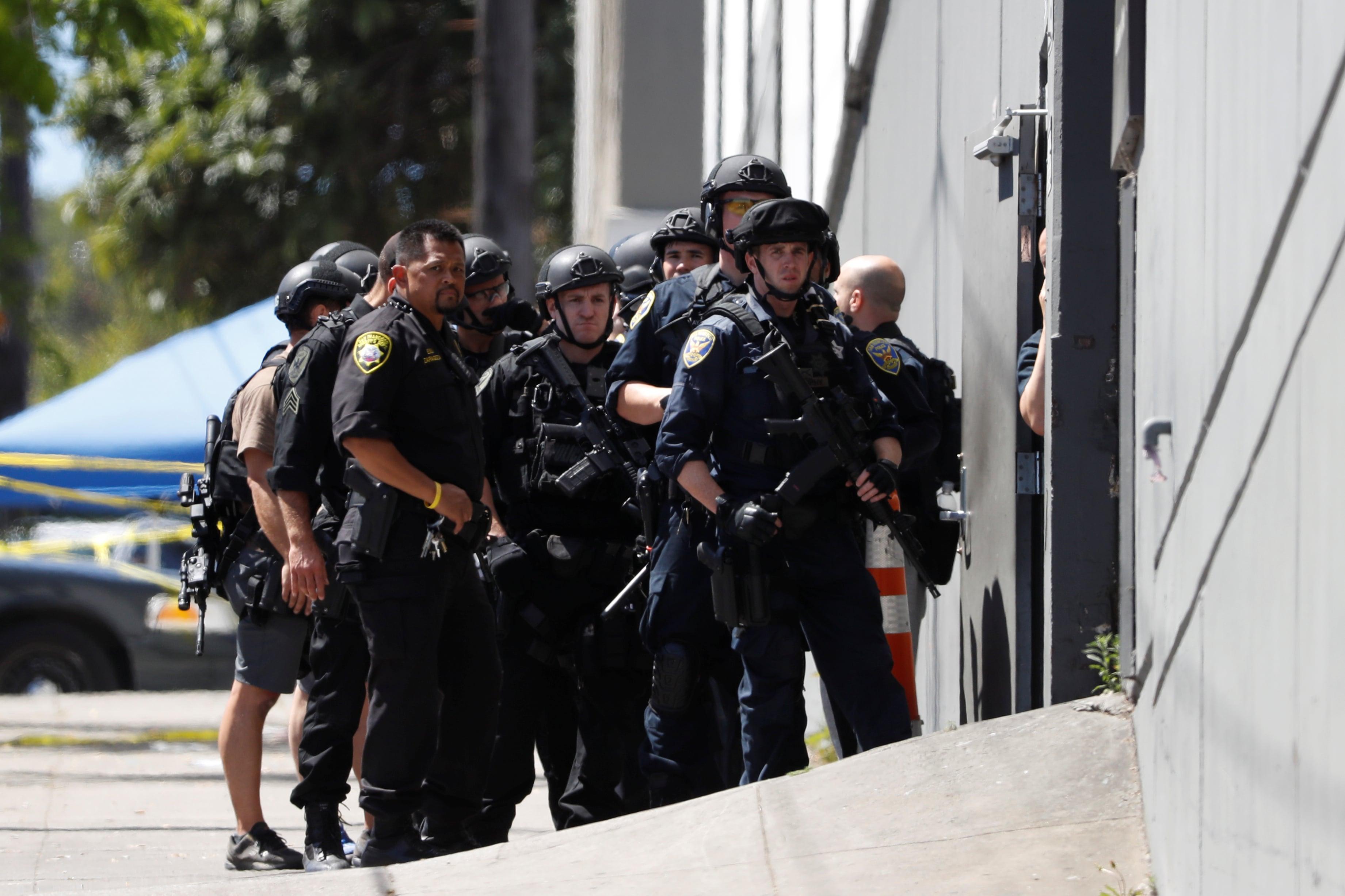 San Francisco Police Raid