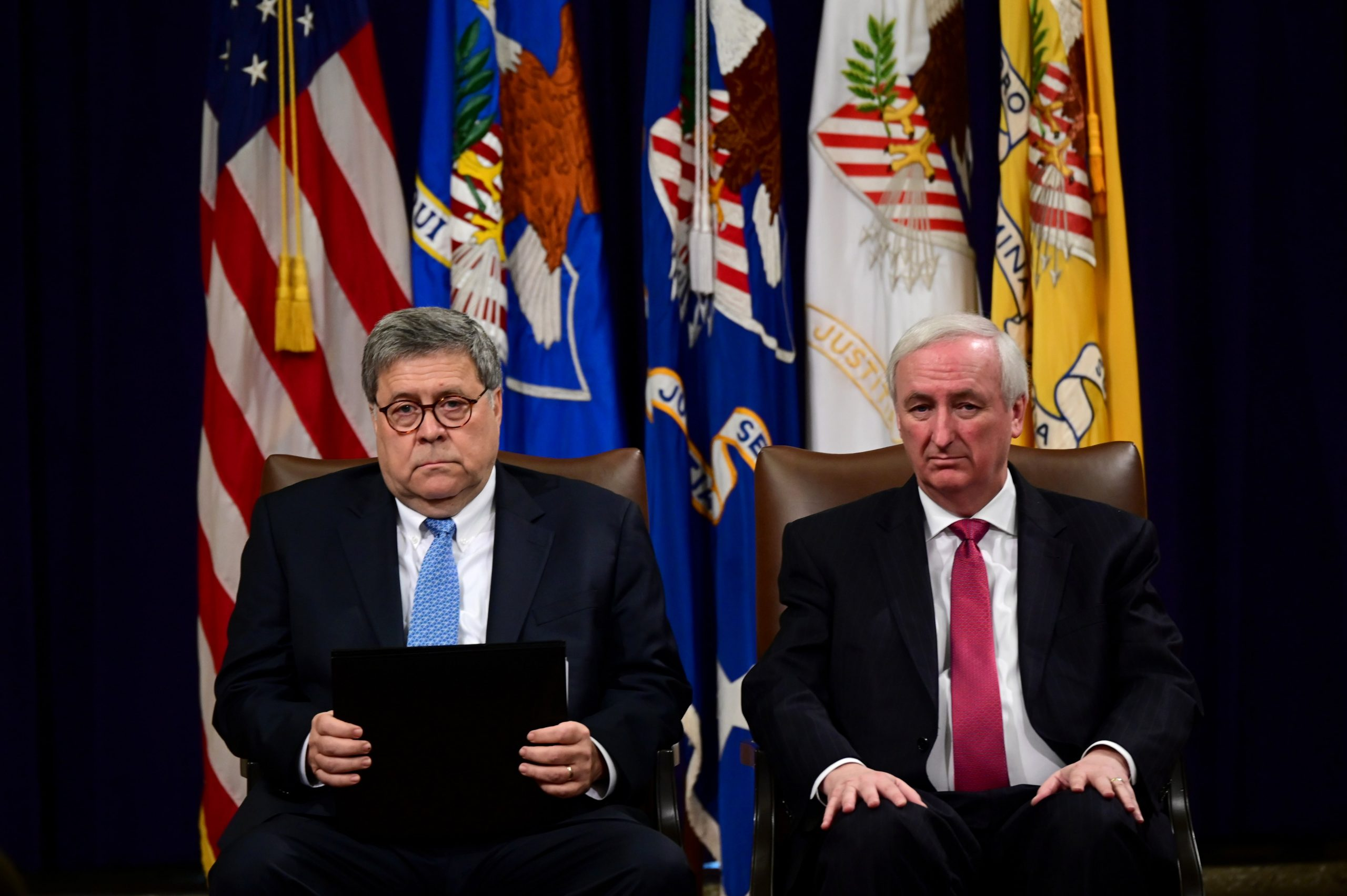 William Barr and Jeffrey Rosen