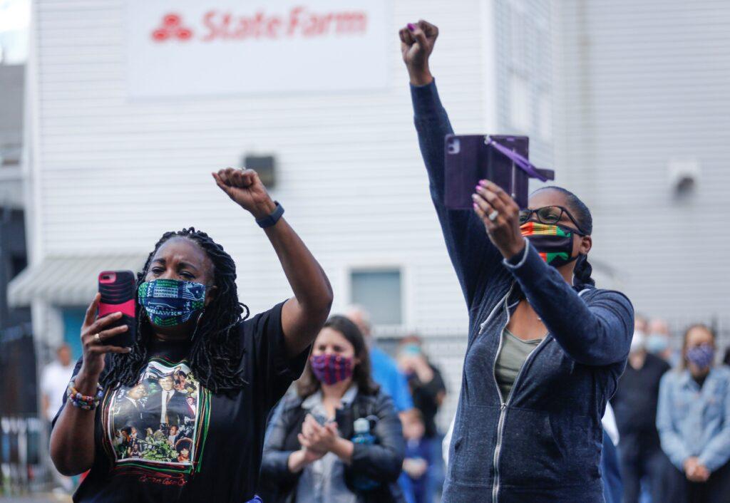 protest floyd