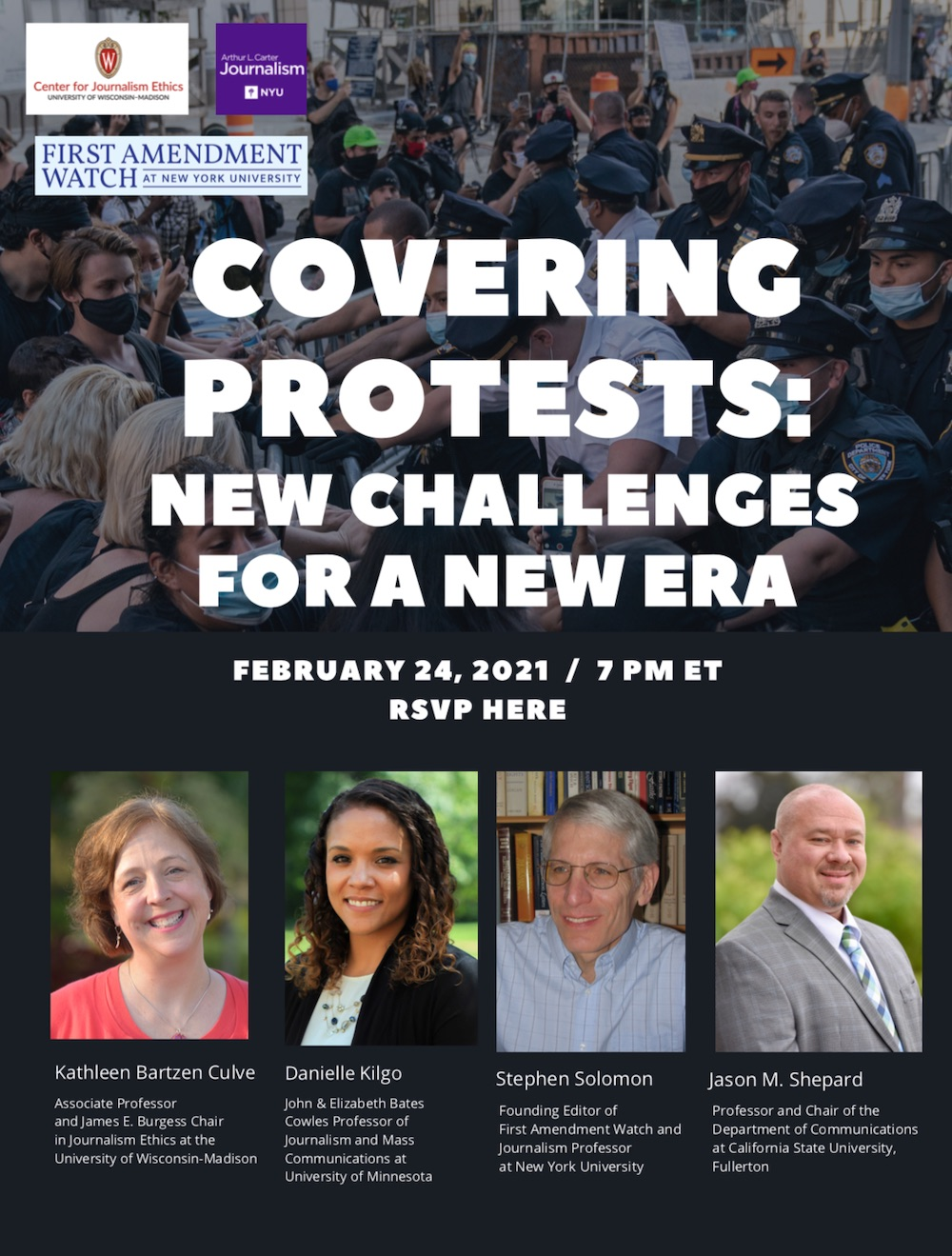 Covering Protest Event