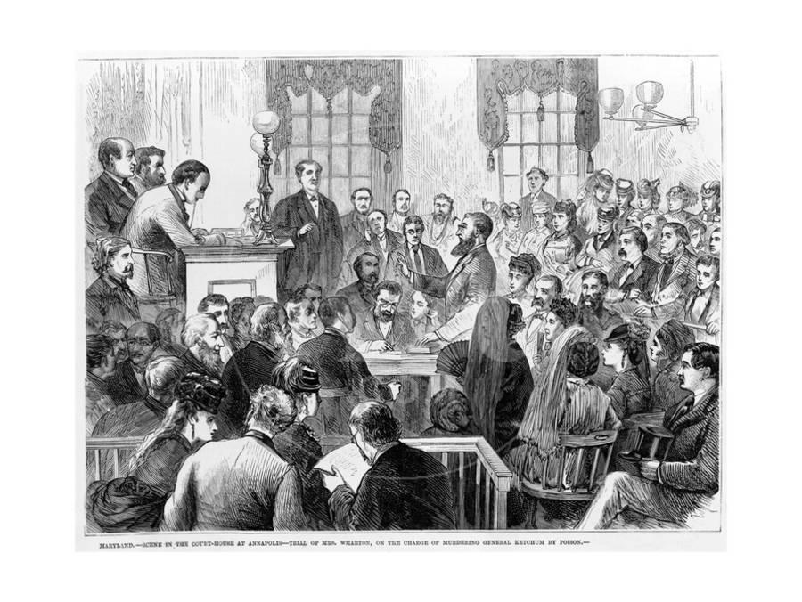 19th Century Public Trial