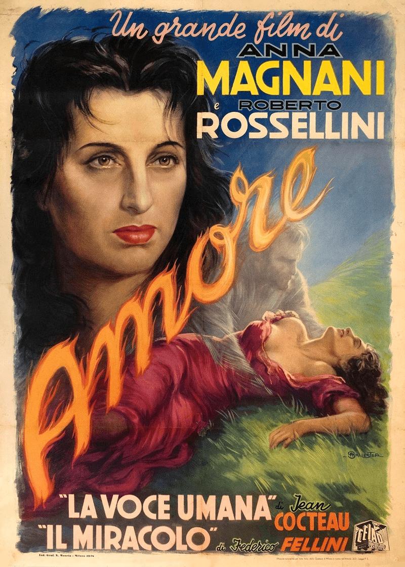 """Roberto Rossellini's 1948 film """"Il Miracolo."""""""