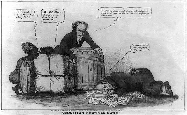 John Quincy Adams/Gag Order Cartoon
